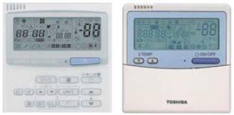 toshiba air conditioning controller manual